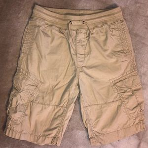 GAPkids khaki cargo shorts